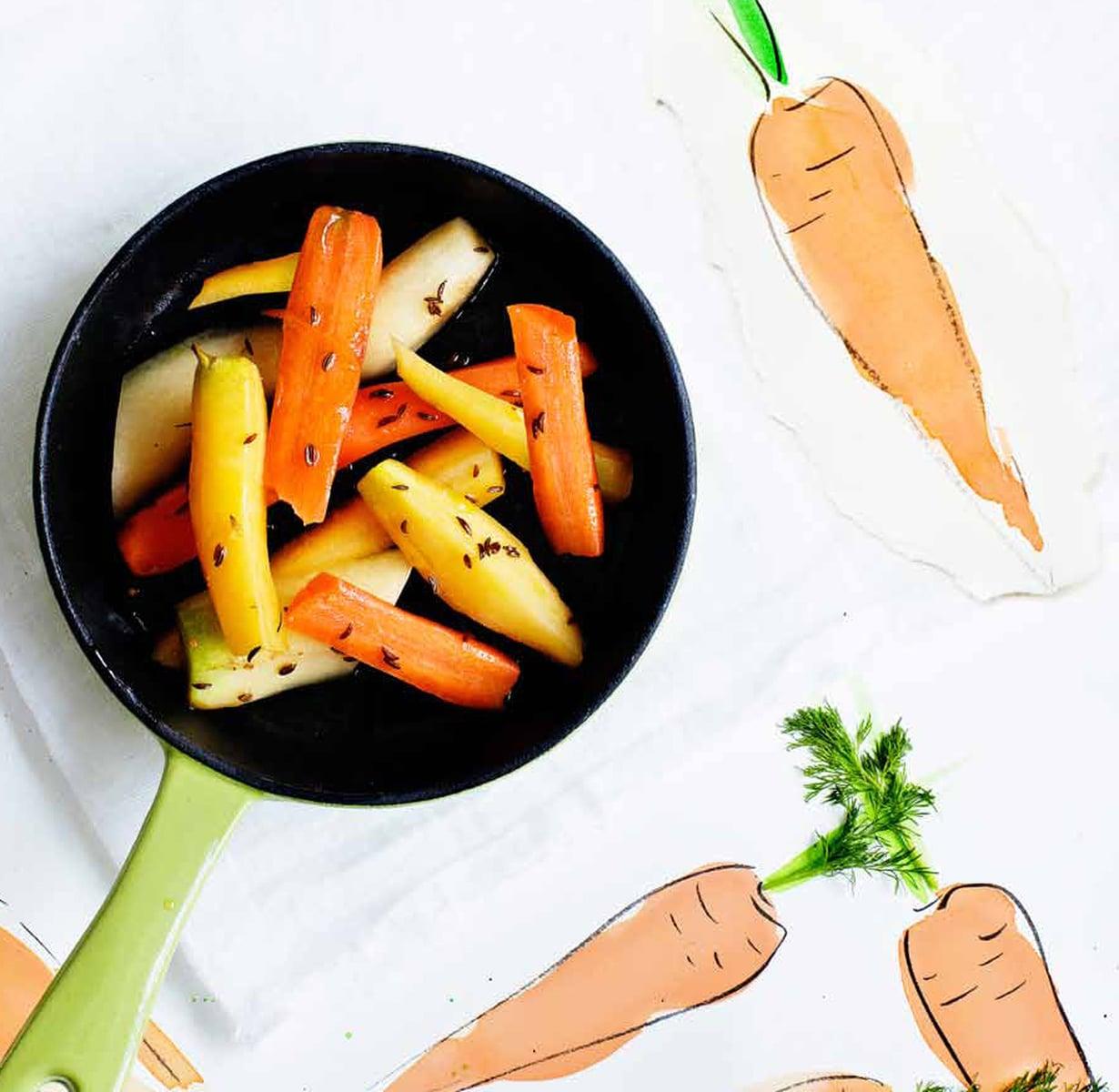 Lämmin Porkkanalisäke