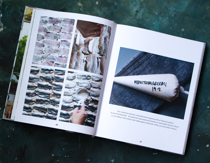 Hanna G Kokkaa -kirja vilisee ammattikeittiöstä tuttuja vinkkejä, jotka tekevät kotikokkaamisesta kätevämpää.