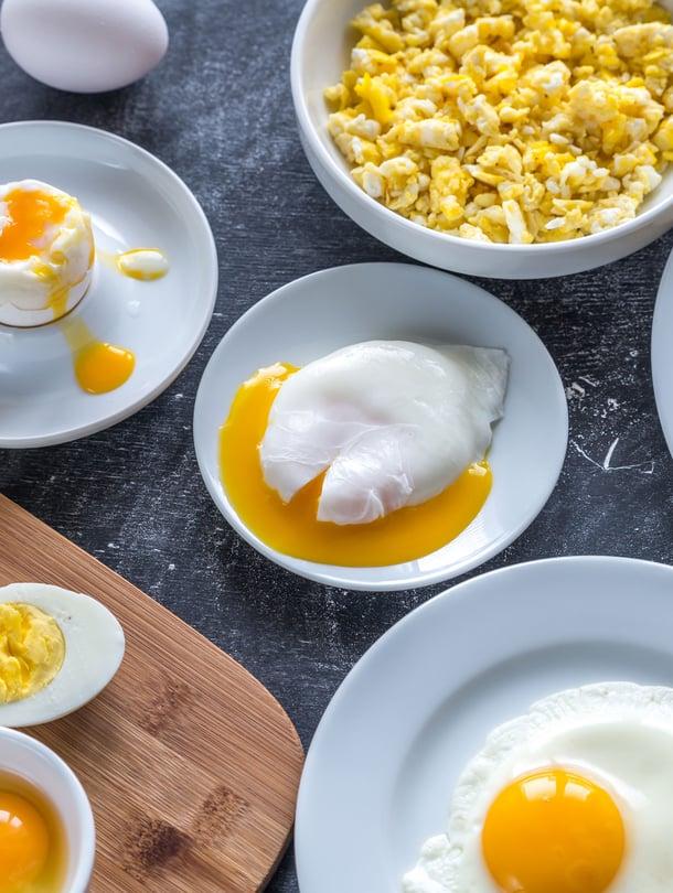 Kananmuna on mitä parhain pikaruoka, koska se maistuu keitettynä ja paistettuna.