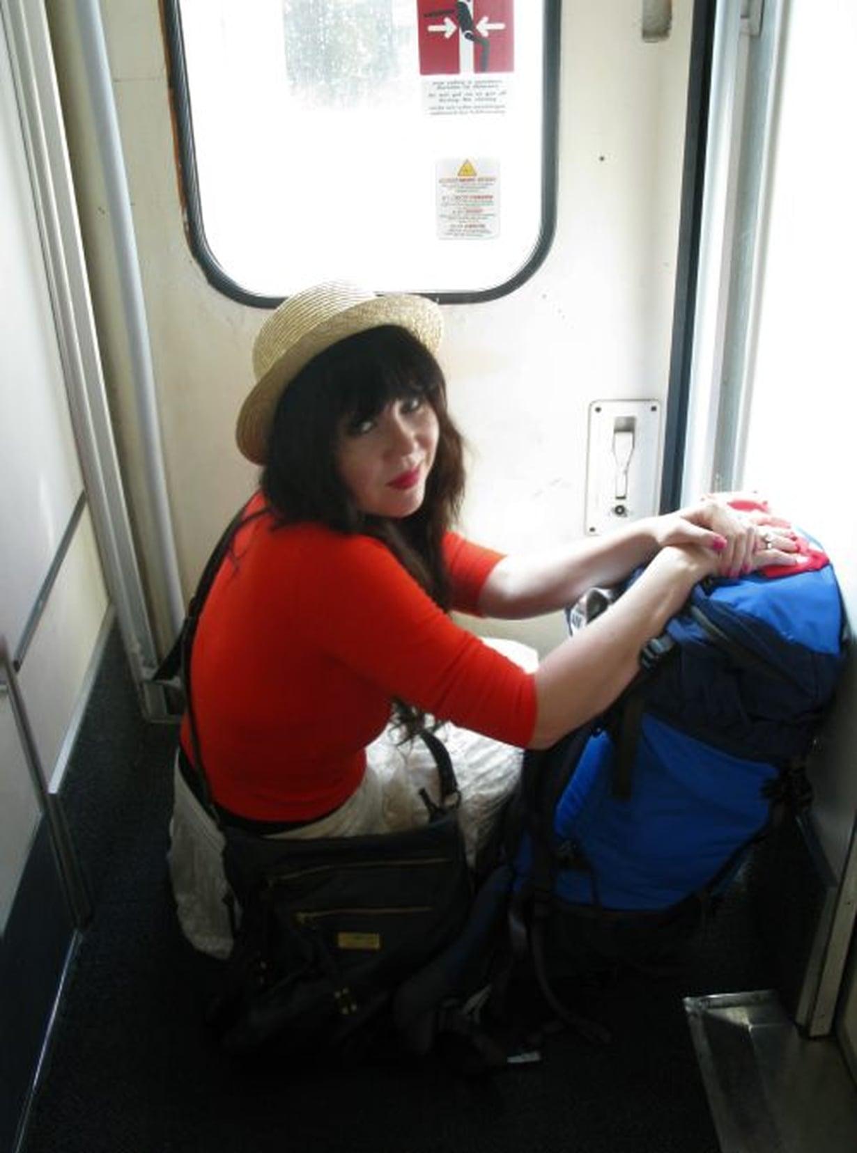 italiassa junalla