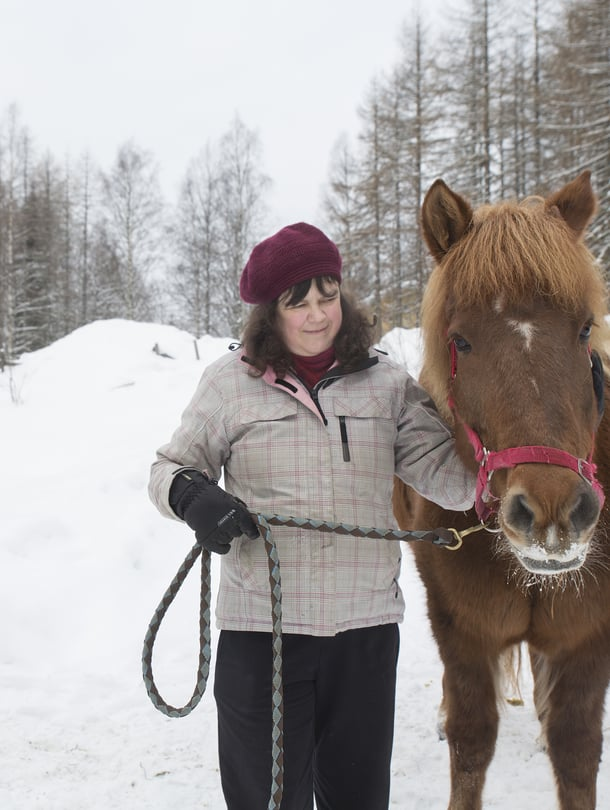 """""""Hevosta ei voi syyttää esimerkiksi ontumisen näyttelemisestä"""", sanoo eläintutkija Nora Schuurman."""