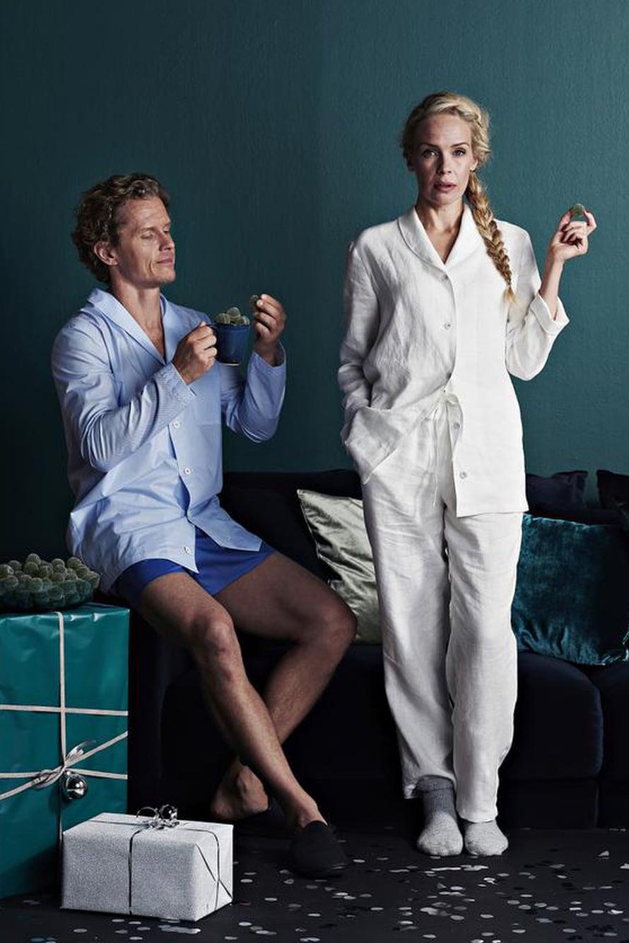 5 Pyjamapaita 6 Pyjamasortsit 7 Pyjamahousut