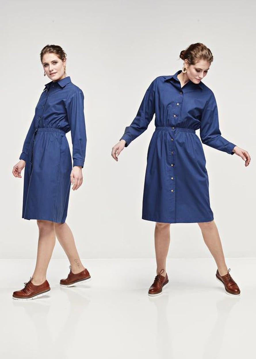 10 Sininen Judith-mekko