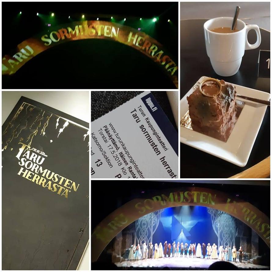 AIVAN MIELETÖN!  Harry Potter on aina vienyt mun sydämen enemmän kuin TSH, mutta tämän esityksen myötä musta tuli vähän enemmän TSH-fani.! Vai sittenkin ehkä Turun kaupunginteatterin?