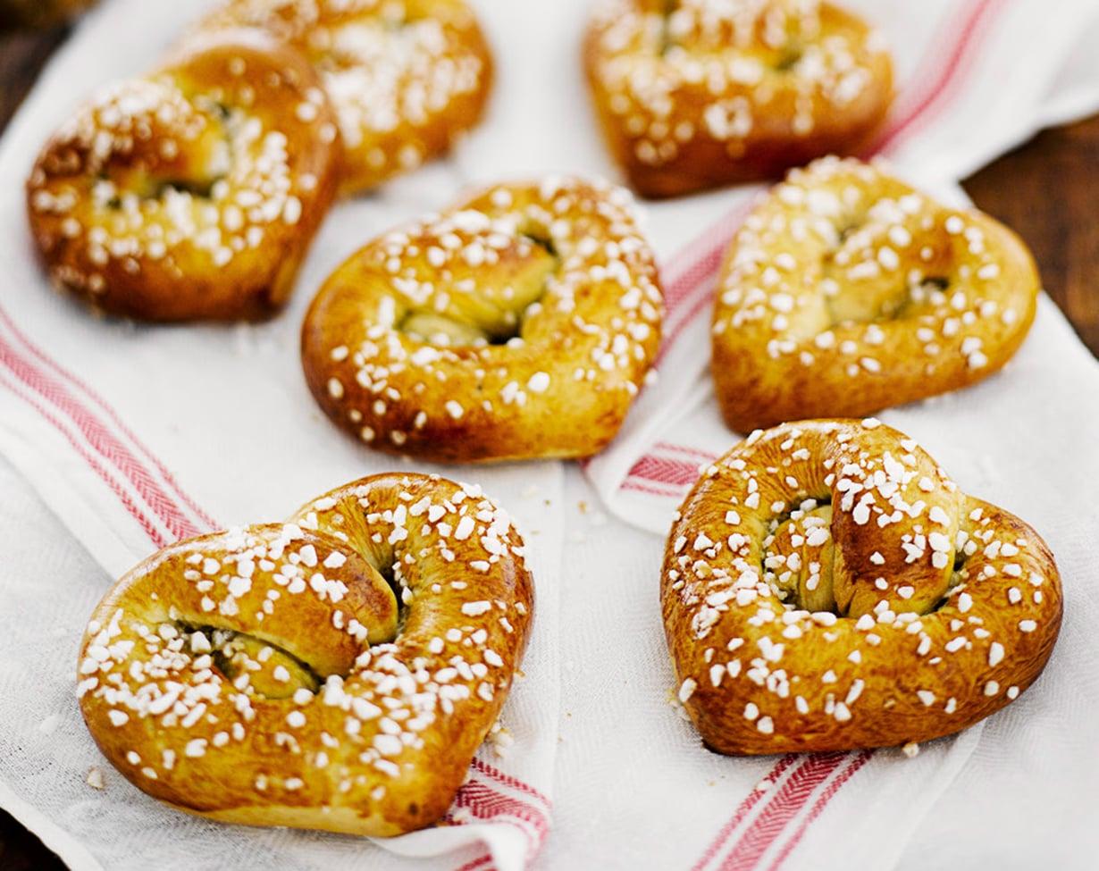Paras leivonnainen syntyy lempeissä, rakastavissa käsissä!