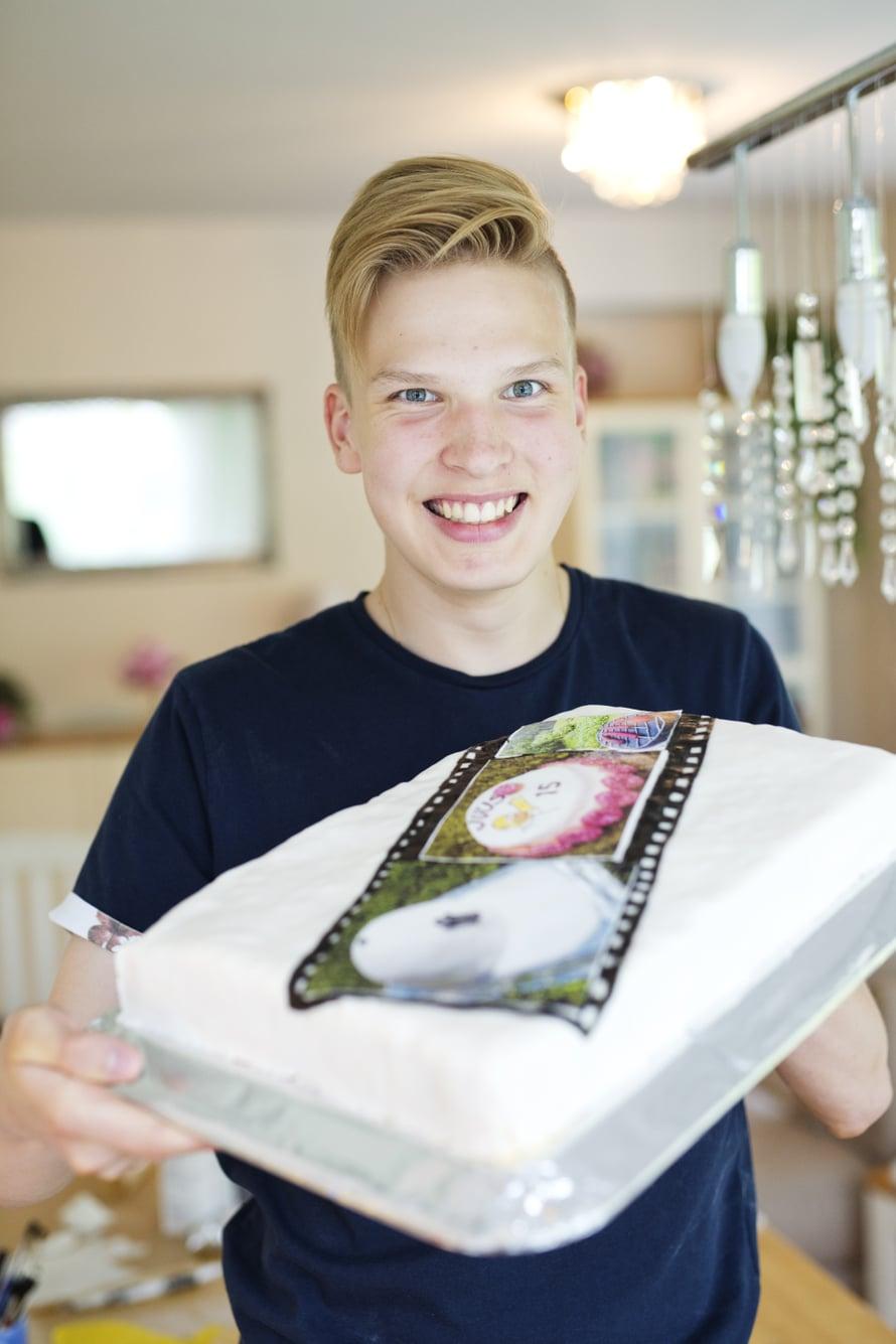 Juuso haluaa Suomen parhaaksi kakkuleipuriksi.