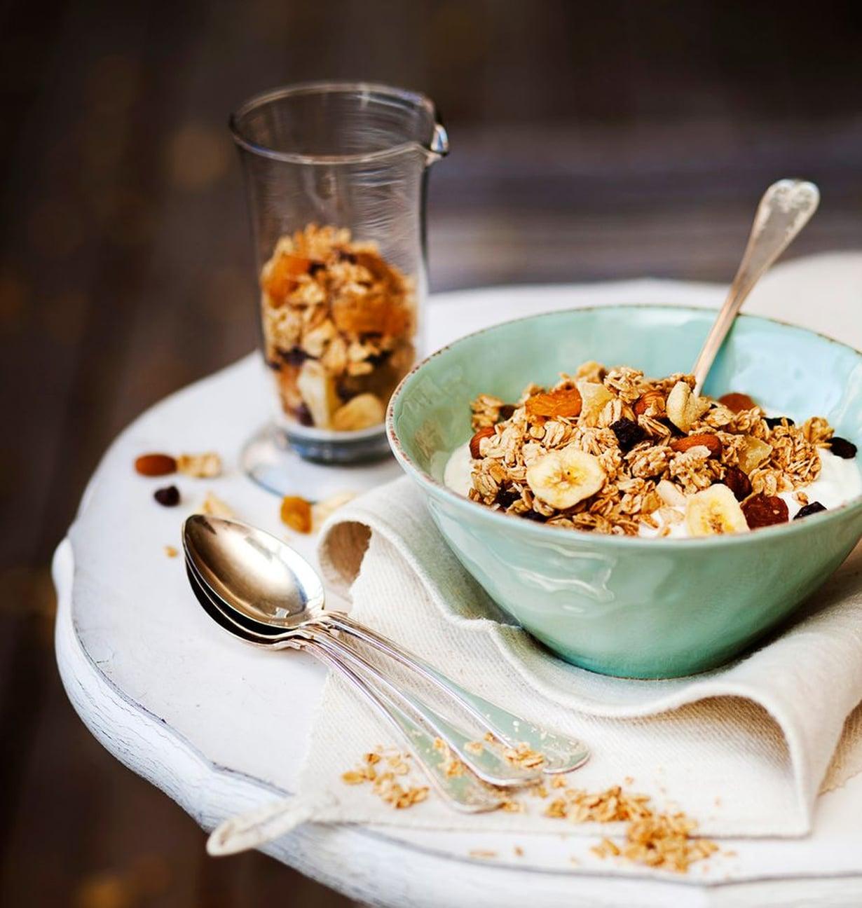 Kun teet kerran itse granolaa, kaupan valmissekoituksiin ei ole paluuta.