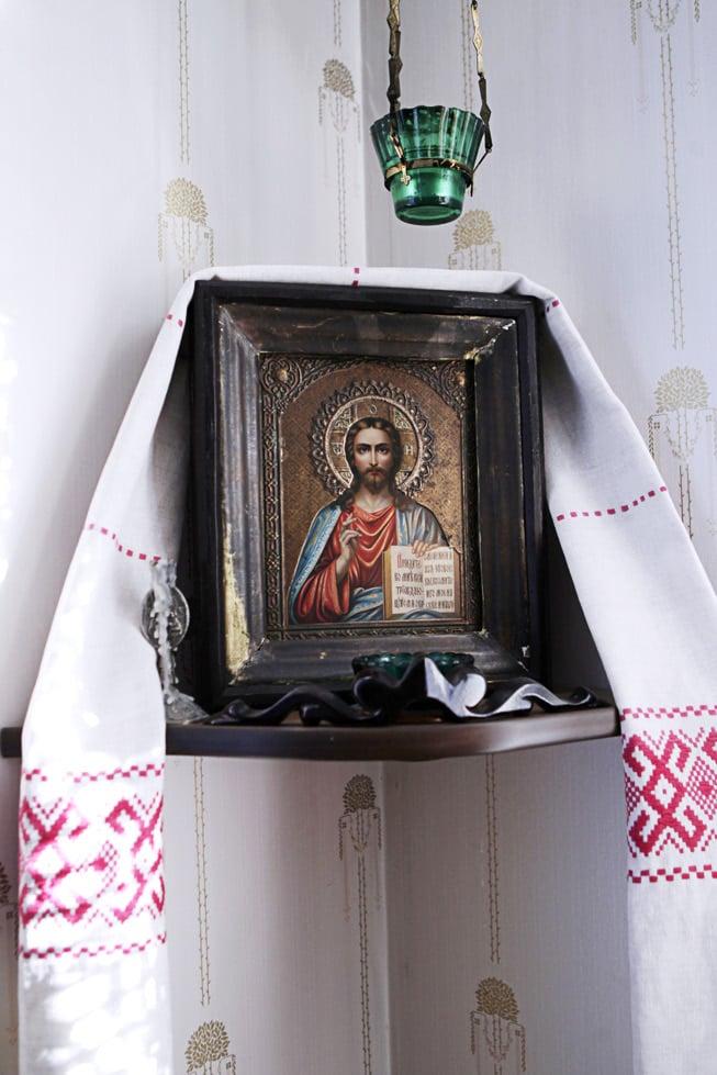 Tarja on kasvanut luterilaisessa kodissa, mutta tuntee olevansa sielultaan ortodoksi.