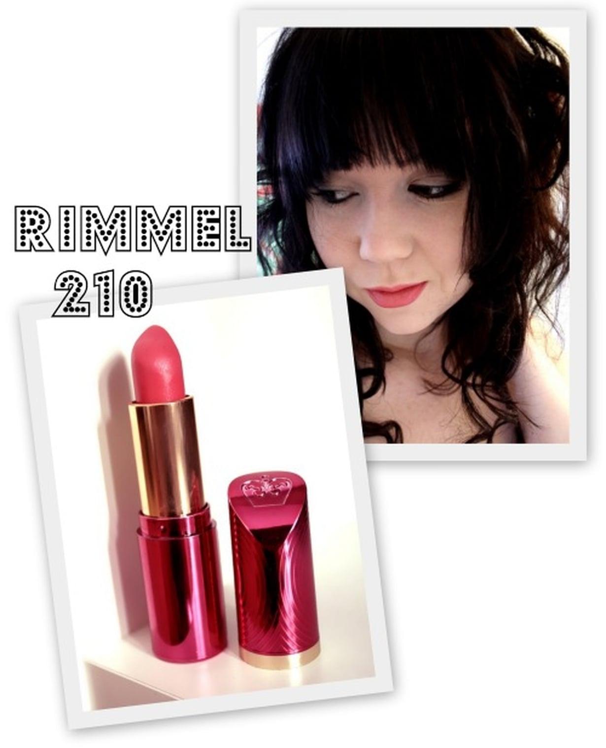 rimmel 210 fame pink