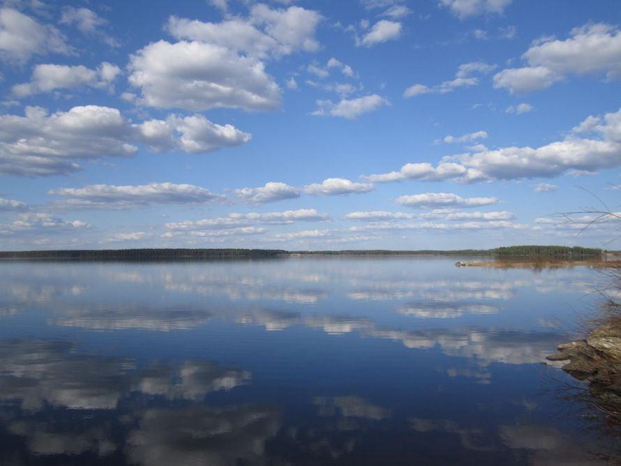 Sari Juntunen otti kuvan Suomussalmella.