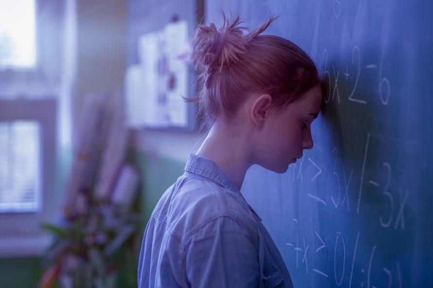 """Eikö ole matikkapäätä? Muista, että """"en osaa"""" on eri asia kuin """"en opi""""."""