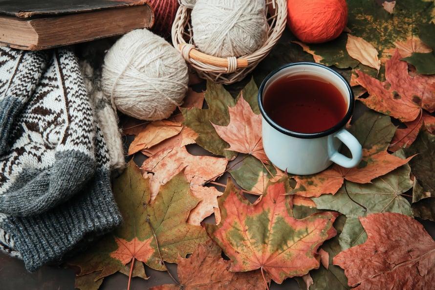 Ihan jo pelkästä neulomisen suunnittelustakin tulee lämmin olo!
