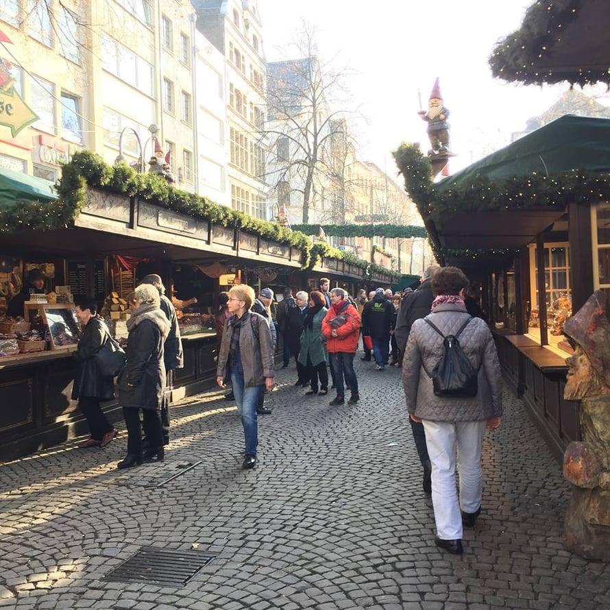 Tonttumarkkinat Heumarktilla