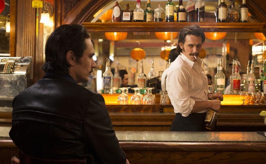 James Franco tekee The Deucessa kaksoisroolin Martinon veljeksinä. Kuva: HBO Nordic