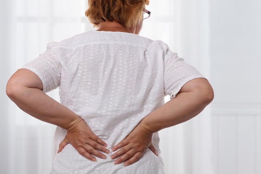 Tavallisin syy äkilliseen selkäkipuun on lihaksen venähtäminen.