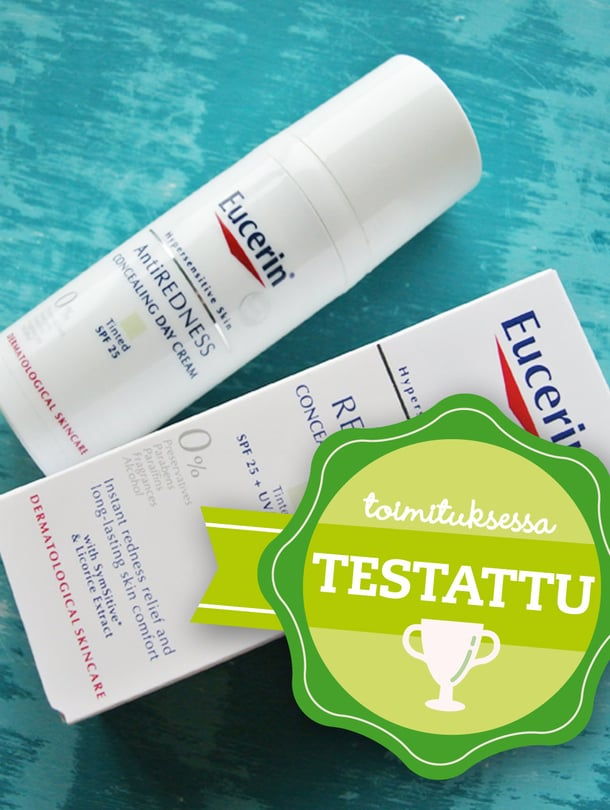 Eucerin AntiRedness Concealing Day Care, 24,50 euroa.