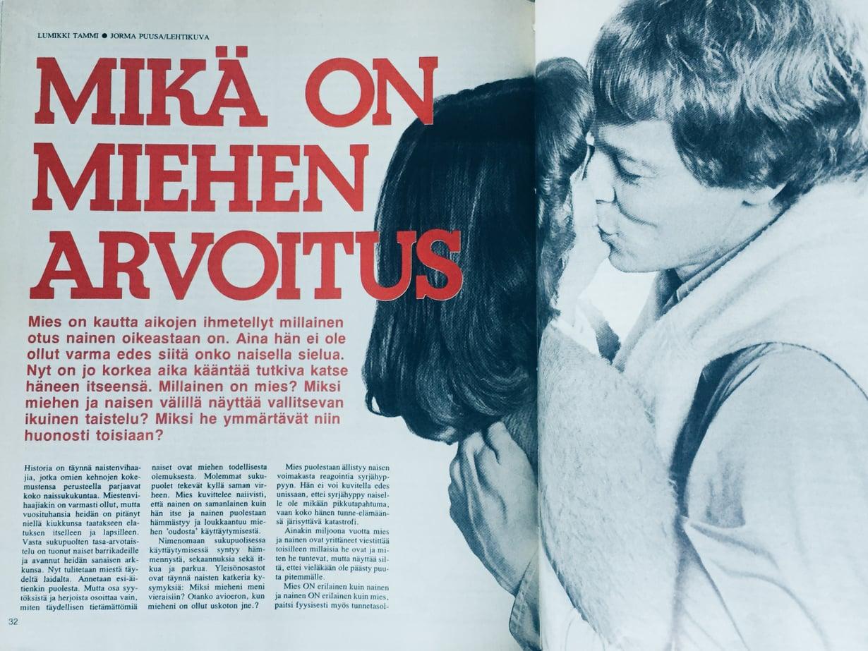Tältä näytti Kodin Kuvalehti vuonna 1978.