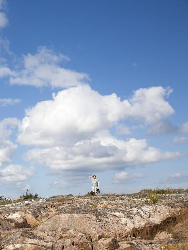 Maarianhaminan edustalla sijaitseva Kobba Klintarin luotsiasema on Ahvenanmaan oma vapaudenpatsas, joka toivotti merimiehet tervetulleeksi kotiin.