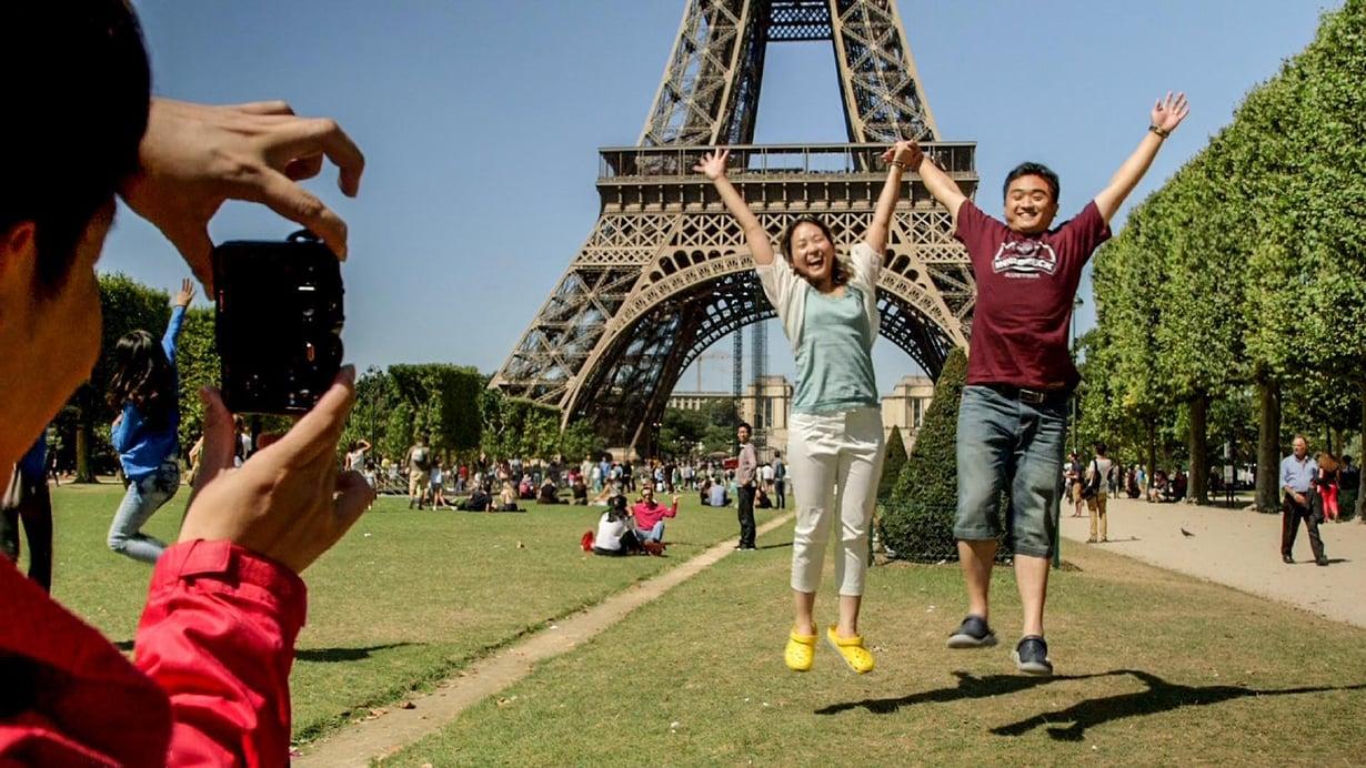Ranskalaisdokumentti seurasi kiinalaisia Euroopan-reissulla.