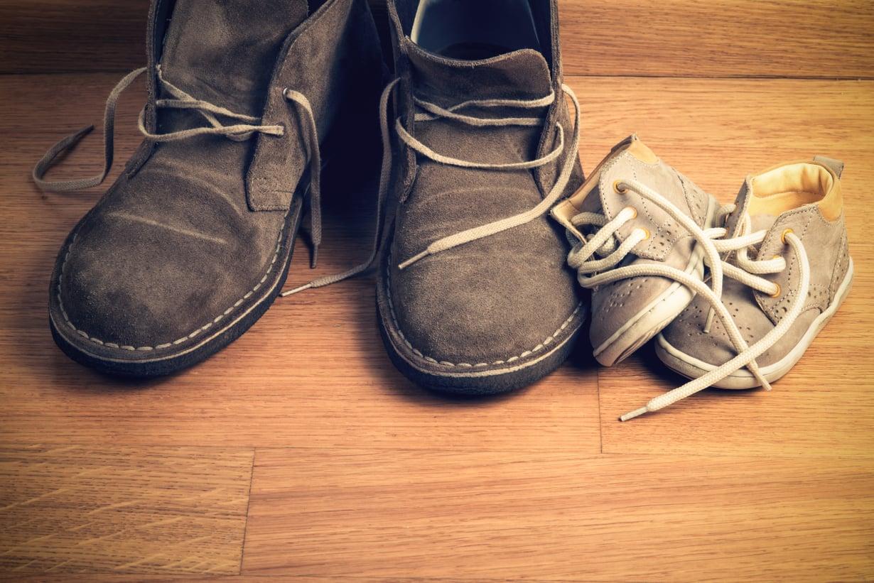 Uskaltaisiko kirpparilta ostaa kengät lapsellekin?