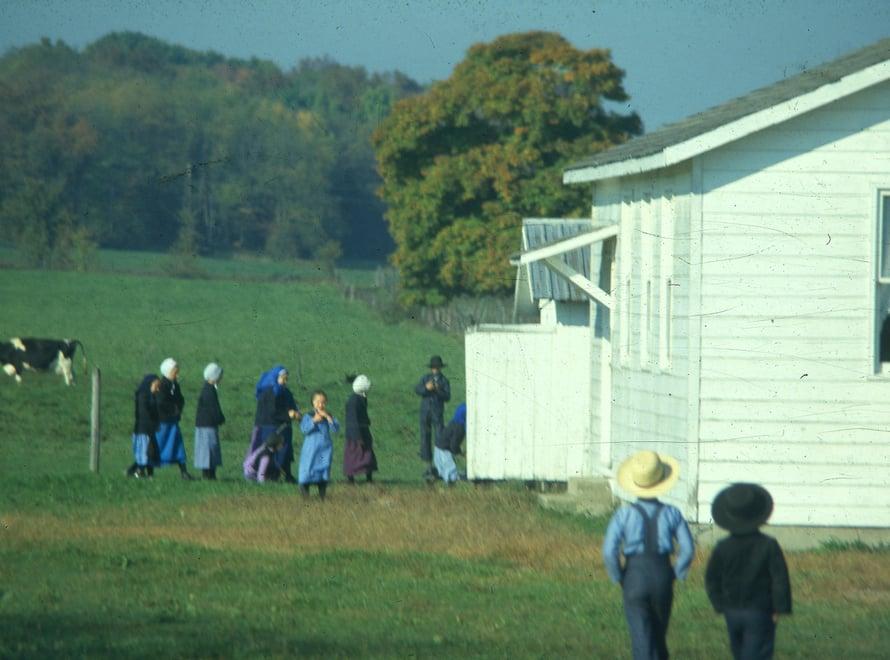 Amissikoulut ovat yksihuoneisia ja väriltään valkoisia.