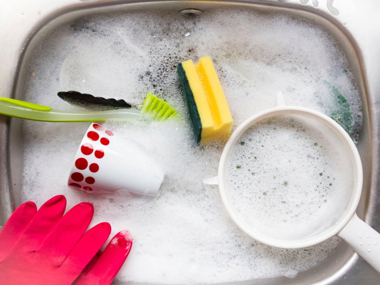 Vesi on lämmintä, vaahto pehmeää ja pesuaine tuoksuu hyvältä. Näillä kaikilla on väliä.