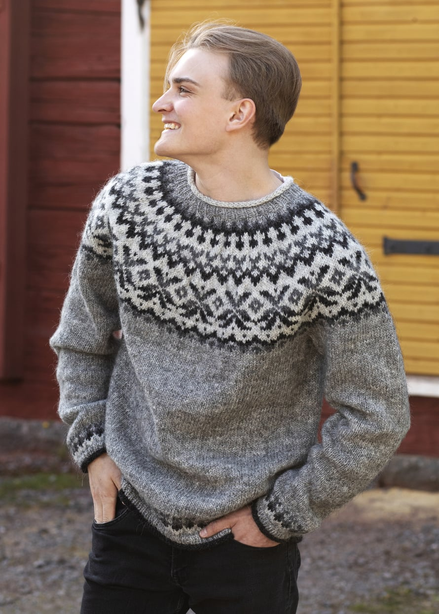 15 Islantilainen neulepusero