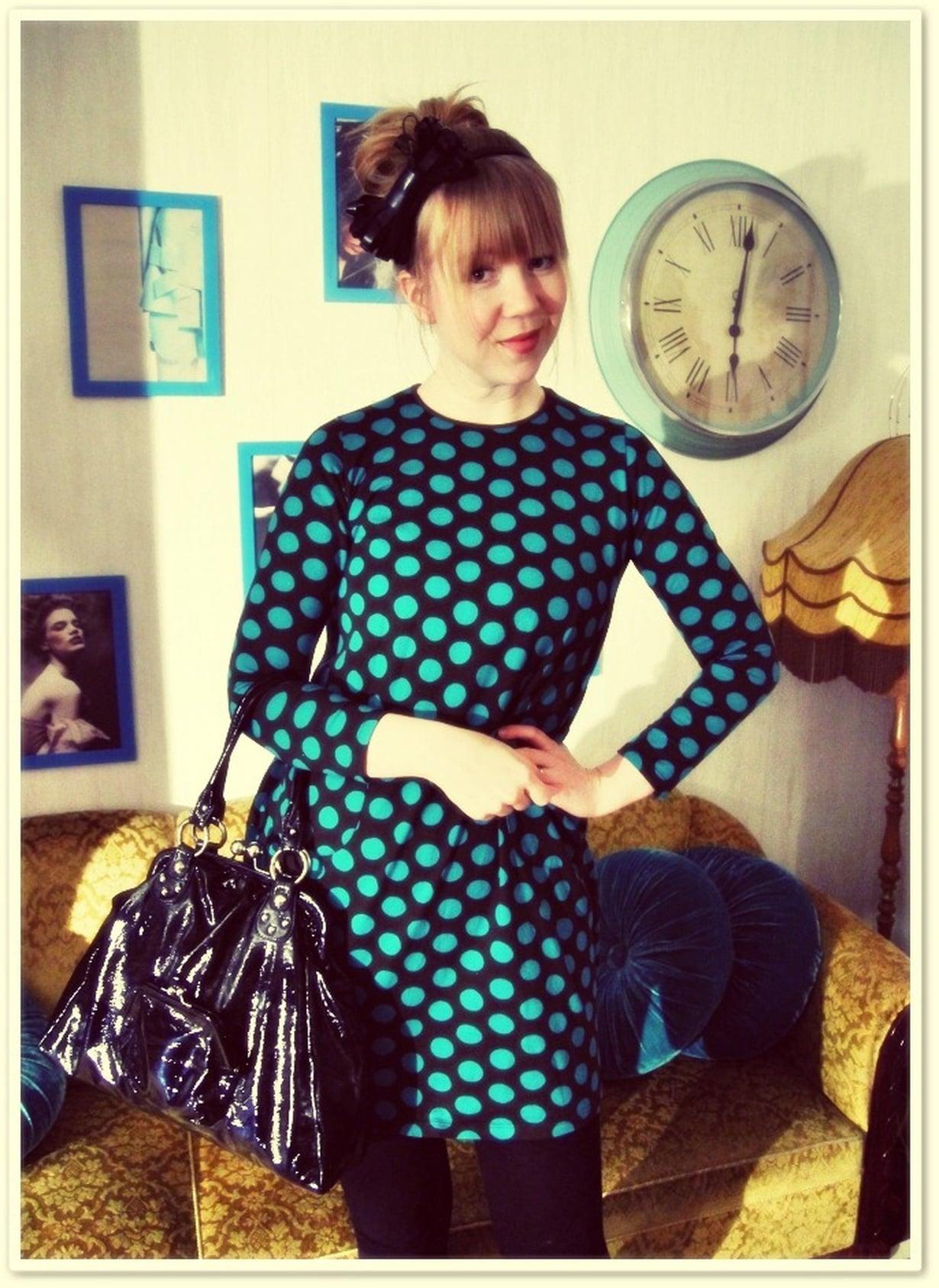 Ruudullinen mekko MustaValkoruutuinen NAISET | H&M FI