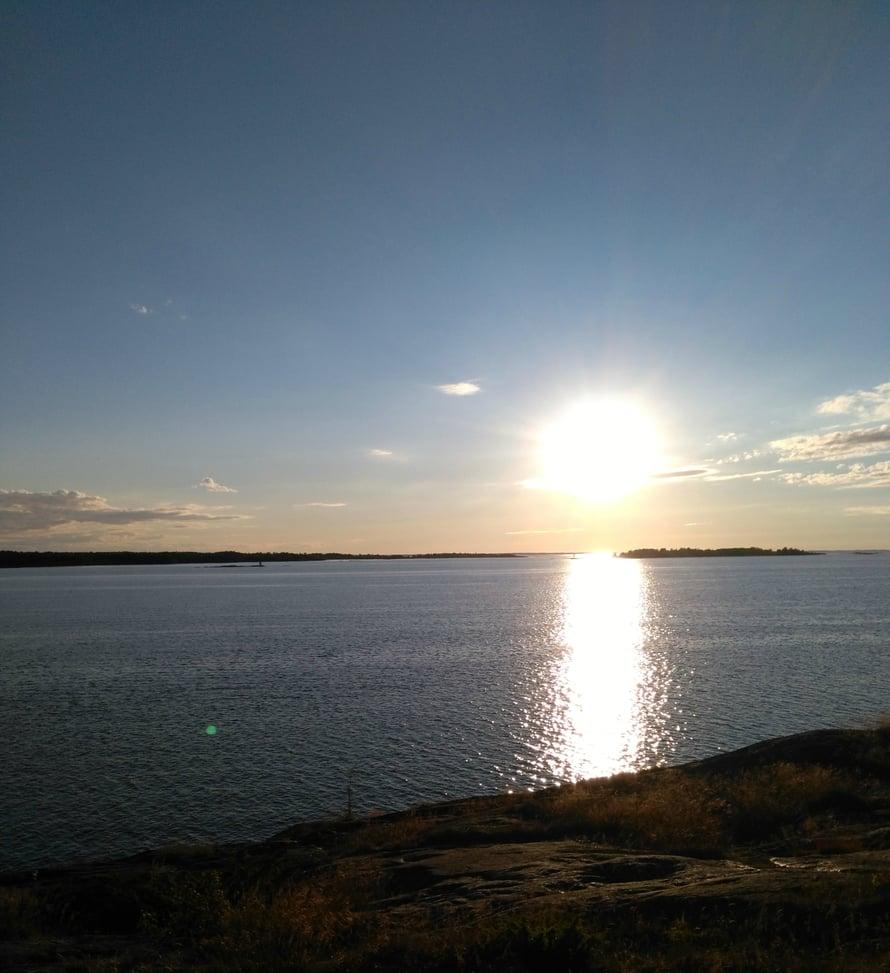 Meri, tuuli ja aurinko on yhdistelmä, jota tulee ikävä..