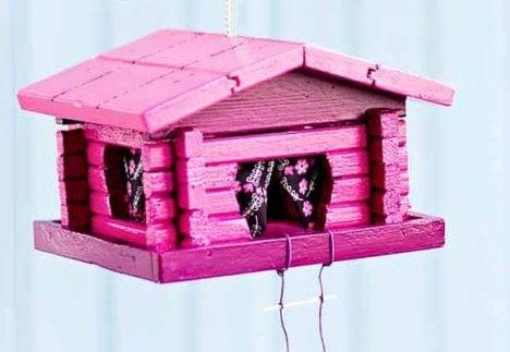 Lintulauta on ostettu Annansilmät-Aitasta.
