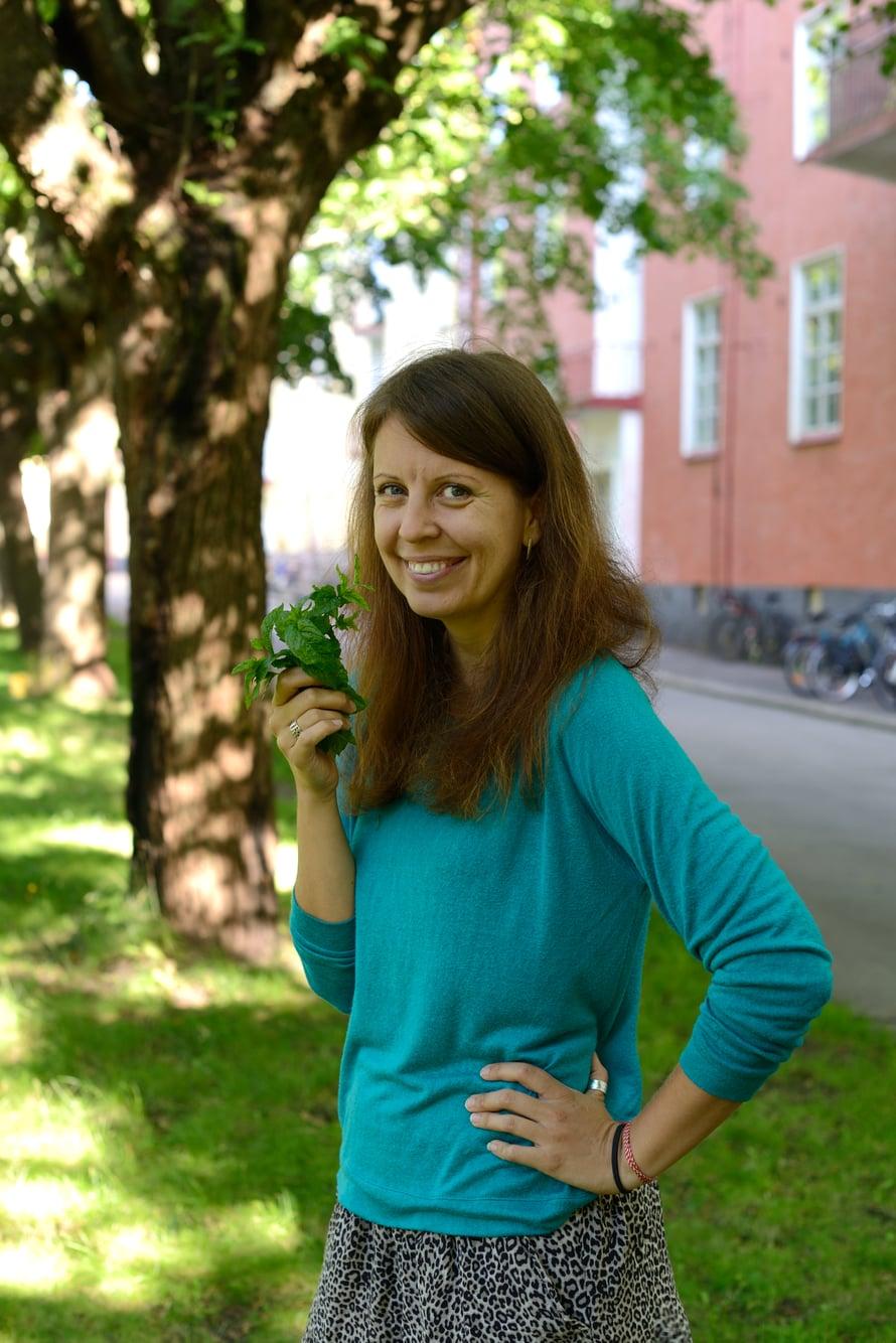 Helsingin Vallilassa sijaitsevan Apinalinnan piha näytti Pamela Arslanista paratiisilta heti ensi silmäyksellä.