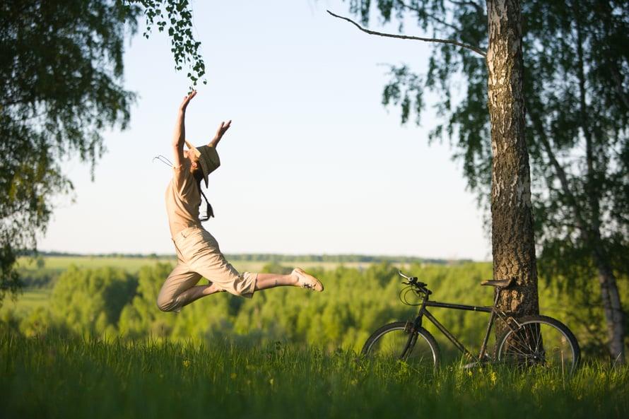 Keski-iässä on jo oppinut, että monesta asiasta voi rauhassa päästää irti.