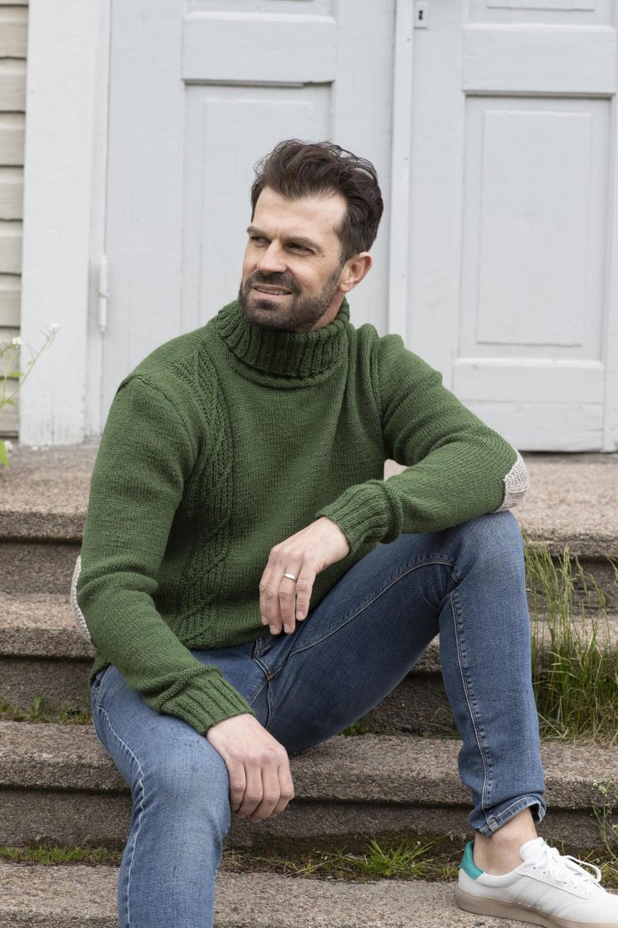 21 Vihreä miehen poolopusero