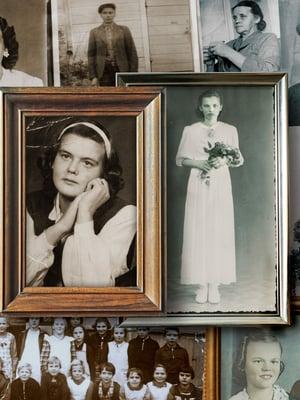 Näiden kuvien ihmisiä yhdistää ihmeellinen tarina. Toimittaja Anna Pihlajaniemi sai kuulla sen.