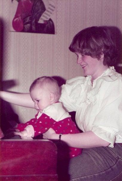 Äitini soitti nuorena pianoa. Musiikki kuului perheeni jokaiseen päivään.