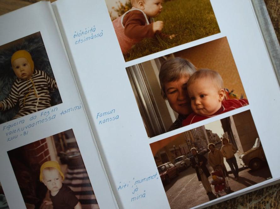 Synnyin Portugalissa ja isovanhemmat lensivät paikan päälle ristiäisiini. Mummot ja mutsi ovat olleet tyylikkäinä liikenteessä!