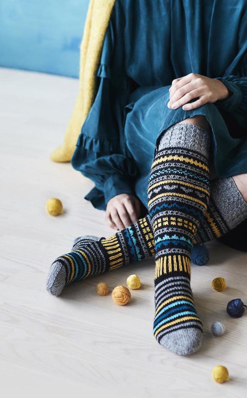 22 Toivonsäteet-sukat