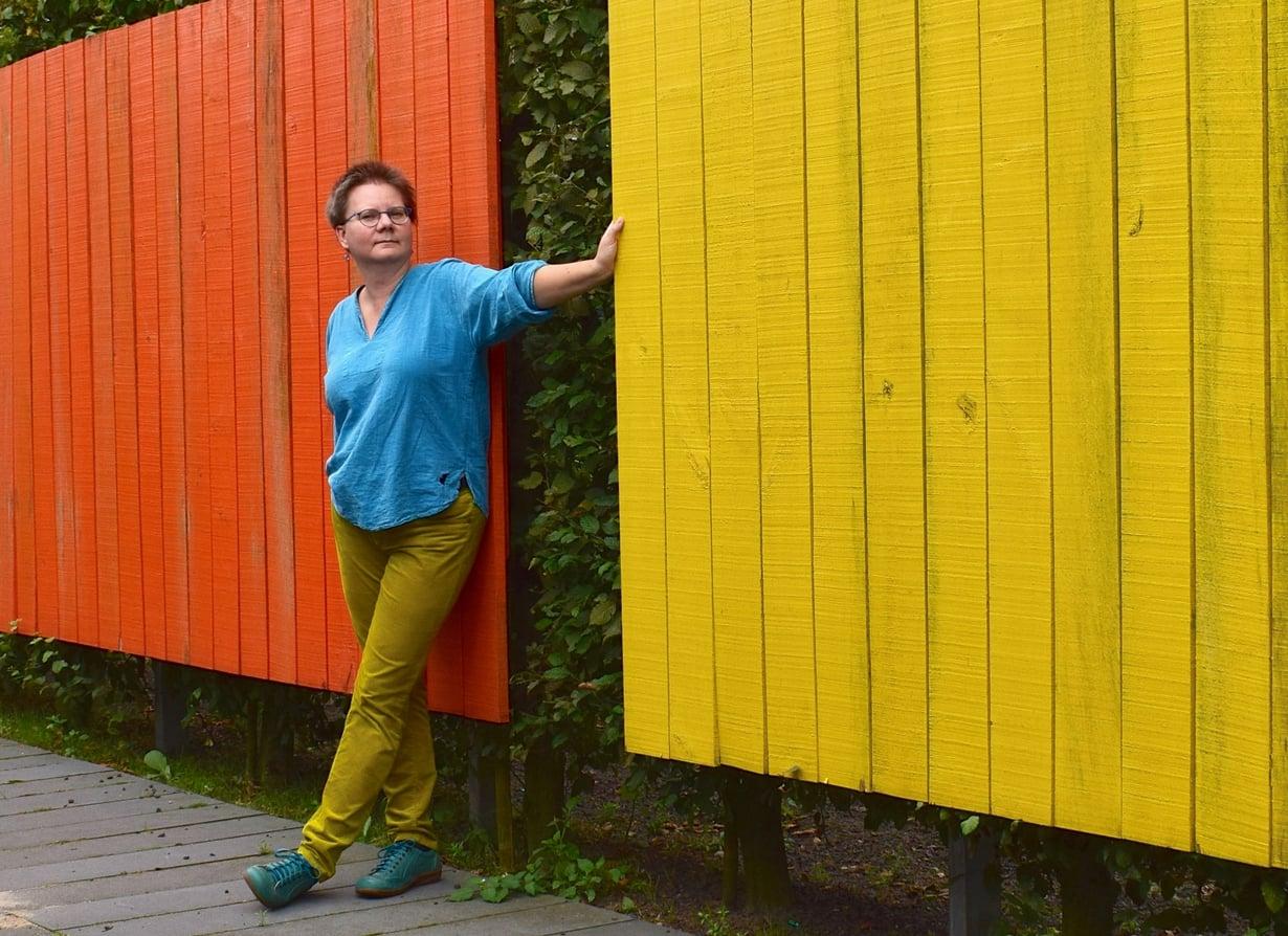 """Lukijabloggaaja Hollanninhippiäisen lempipaikka Hollannissa on rannikon pikkukylä Zoutelande. """"Asun itse sisämaassa, joten ulapan näkeminen on aina juhlahetki."""""""