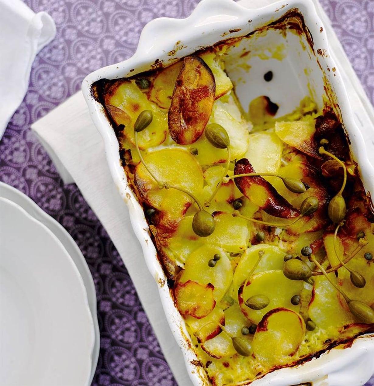 Nopea ja maukas, sellainen on perunan ja tonnikalan yhdistelmä.