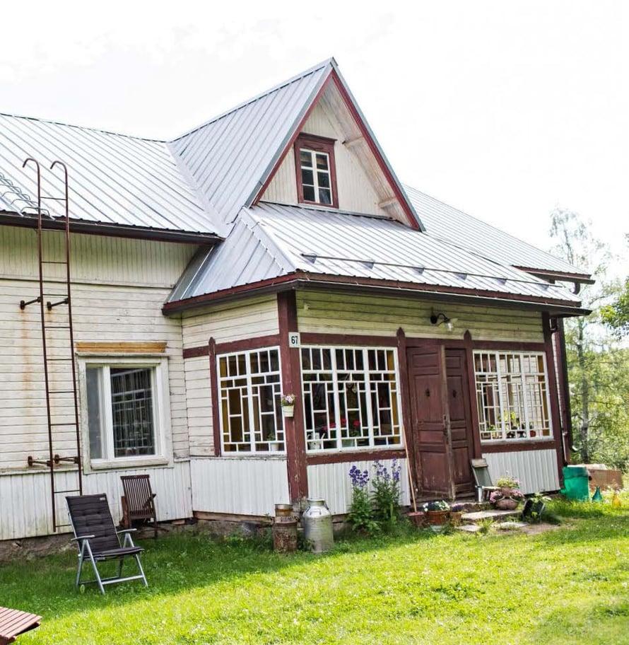 Christelin talo on Kääpälän kylän vanhin. Kyläläiset tuntevat sen alkuperäisten asukkaiden mukaan Peuhuna.
