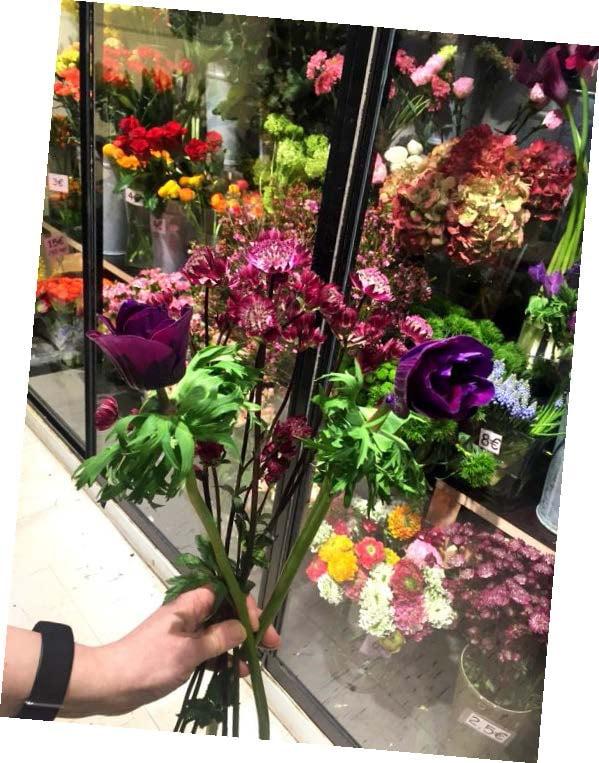 """""""Menin kotiin kukkakaupan kautta."""""""