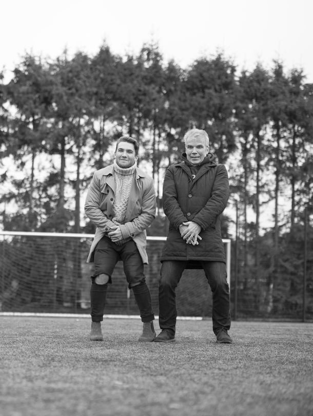 """Keijo Leppänen on halunnut siirtää pojalleen Ukkopekalle hyvän itsetunnon. """"Isääni haluaisin kiittää siitä, että hän on ollut aina paikalla, kun on pitänytkin"""", Ukkopekka sanoo."""