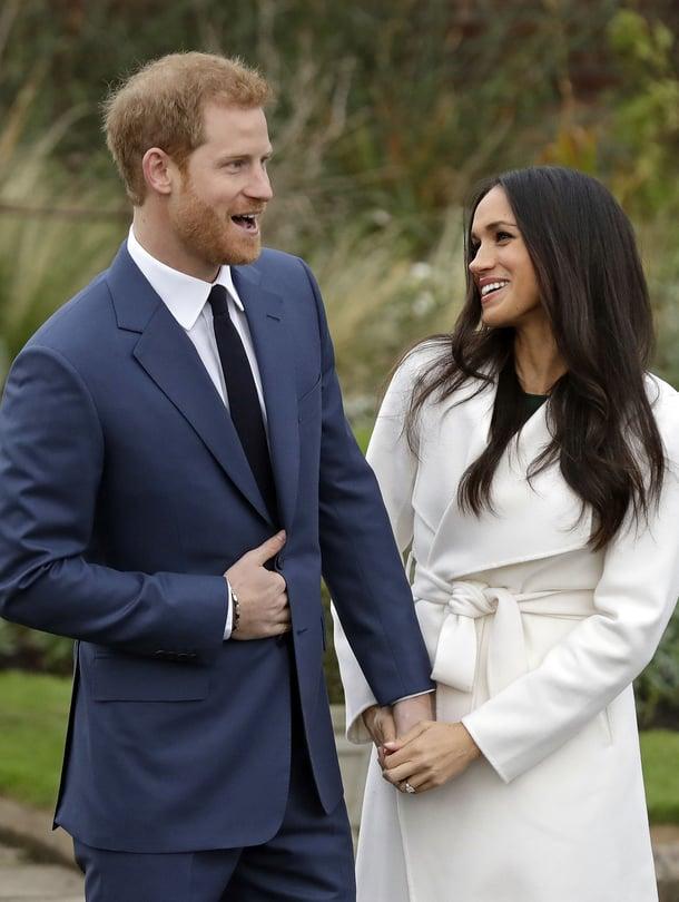 Prinssi Harry ja Meghan Markle matkalla alttarille. Ylen tv-lähetys häistä alkaa lauantaina kello 13.50.