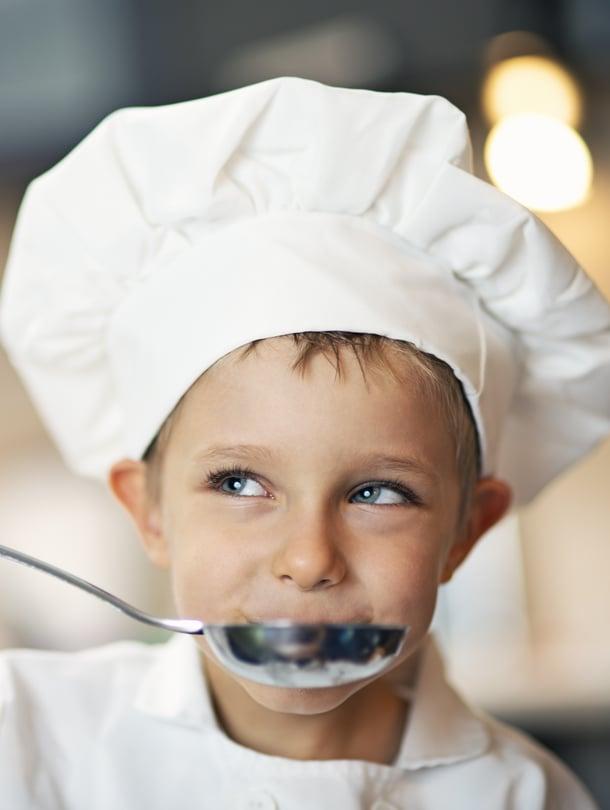 Kukapa tekisi rohkeammin ruokaa kuin lapset! Heiltä voi myös oppia kiinnostavia makuyhdistelmiä.