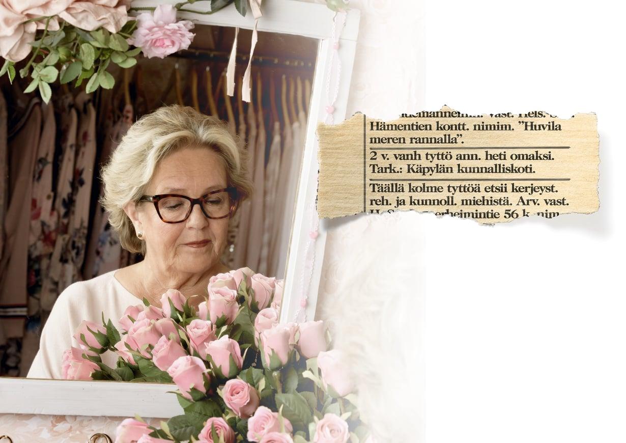 Tällä lehti-ilmoituksella Liisa-Cristiina annettiin adoptoitavaksi. Hän ei koskaan saanut tietää, miksi.