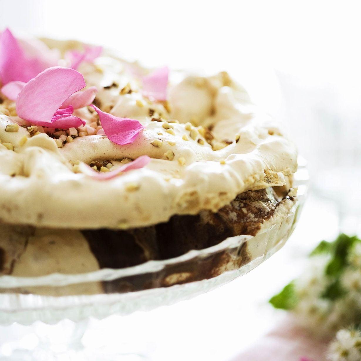 Suklaa, vanilja ja marenki ovat loistava makuyhdistelmä.