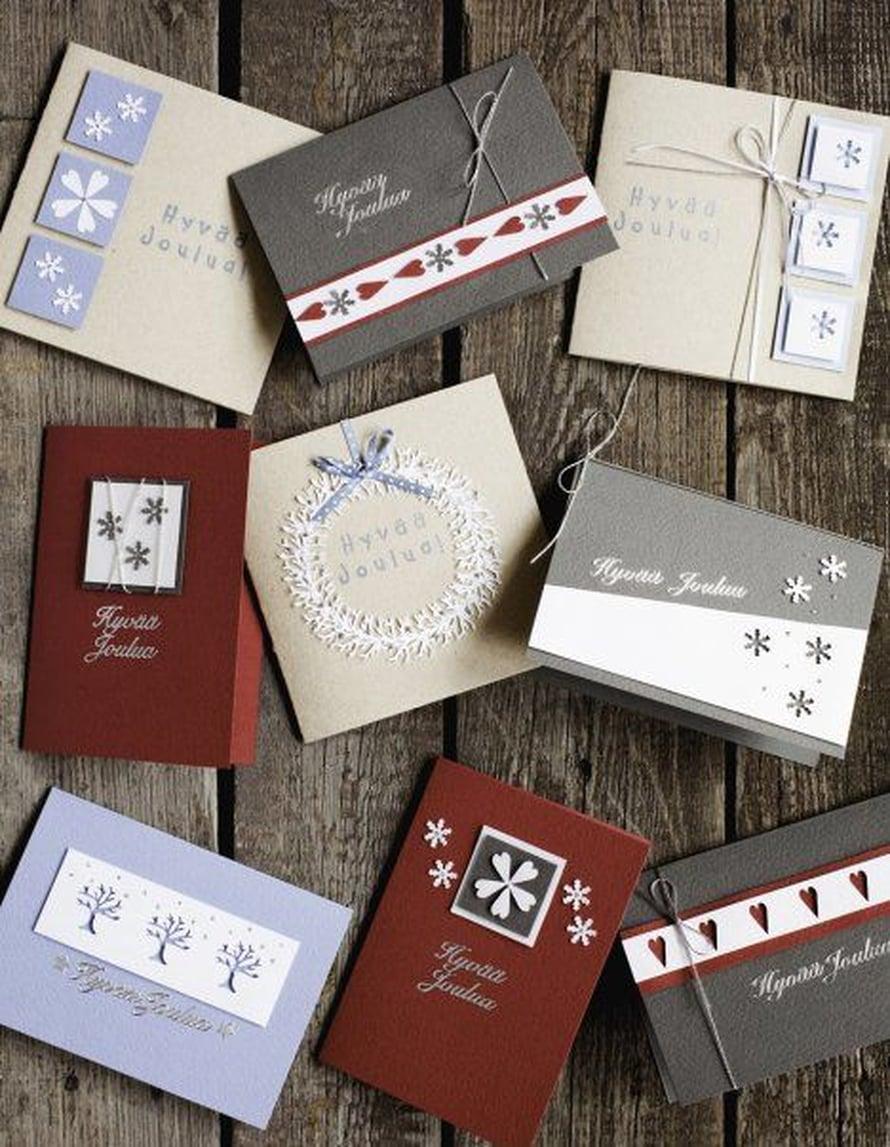 Ideoi mallit etukäteen tai vaikka vasta kortteja tehdessä!