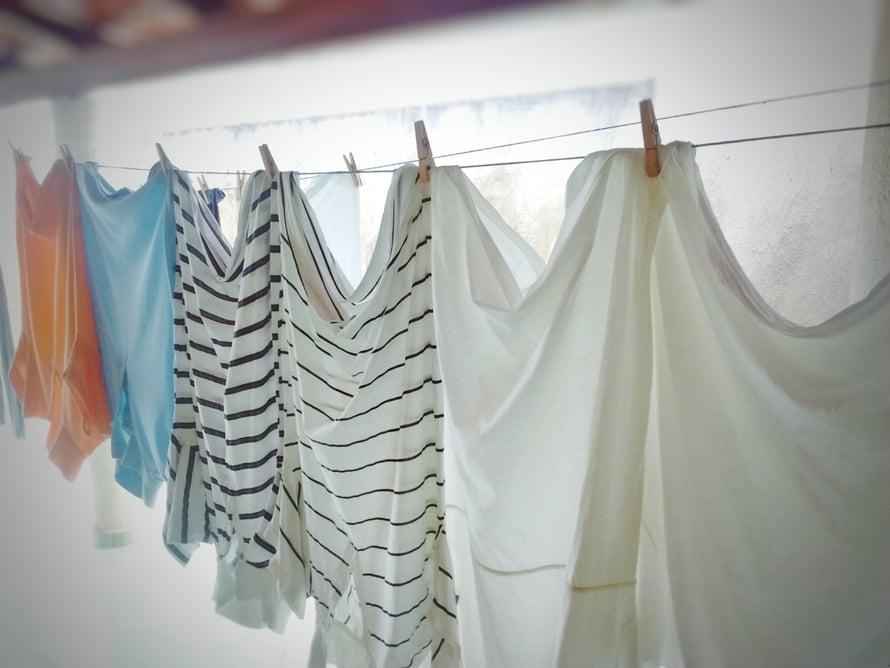 Jos ilmanvaihto on hyvä, pyykit voi ripustaa kuivumaan vaikka kylpyhuoneeseen.