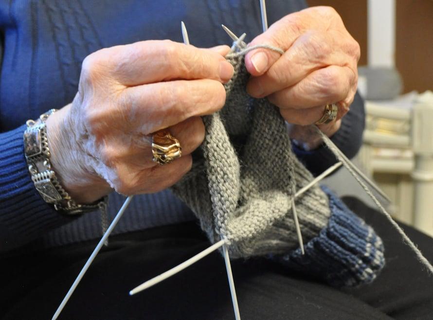 Hämmästyttävän moni saa villasukat aikaan parissa päivässä.