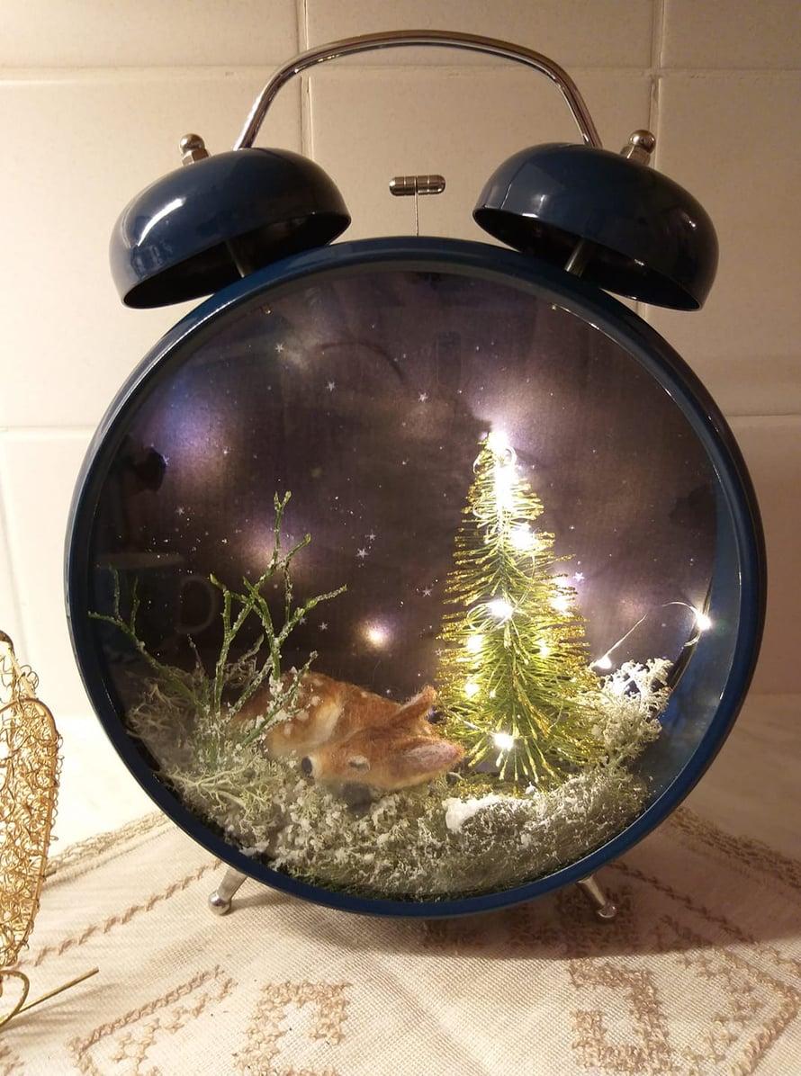 Tämä kello herättää vain joulu-unelmiin!